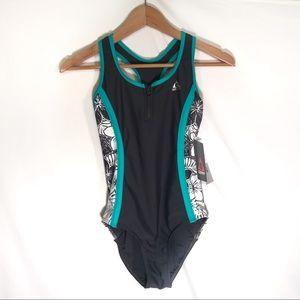 NWT Gerry girls swimsuit one piece